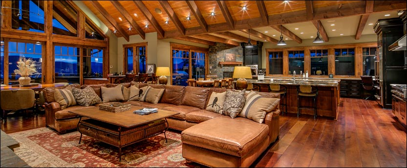 Luxury View Home in Dover Idaho