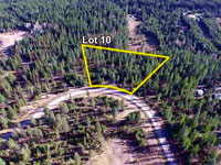 LOT 10 is located on a slight elevation from some of the other Saddle Ridge Lots, giving it a great opportunity for wonderful views.