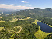 Saddle Ridge Development - Beautiful five acre treed parcel with great mountain views and paved roads to the property in Sagle, Idaho