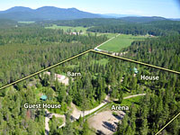 Great Multi-Family property with 2 spacious, well maintained homes in Careywood, Idaho