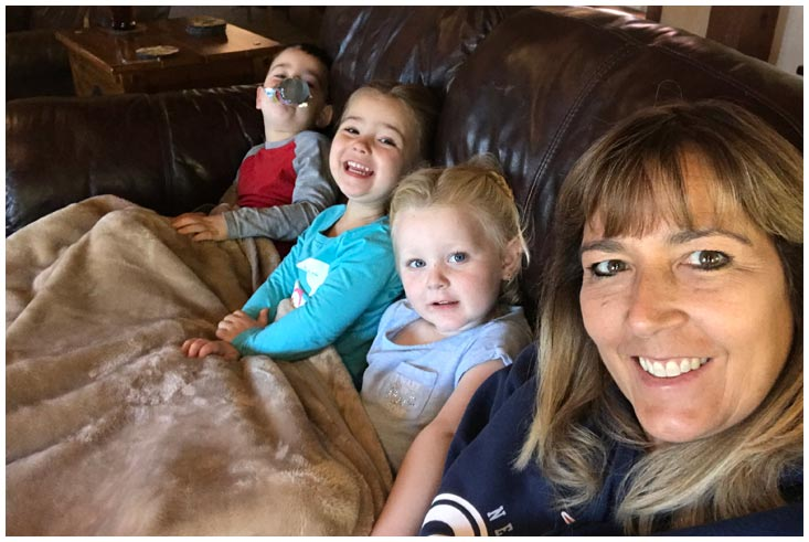 TV Time with the Grandkids