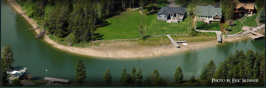 Waterfront Homes in Sandpoint and North Idaho